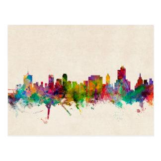 Carte Postale Paysage urbain d'horizon de Tulsa l'Oklahoma