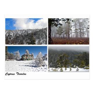 Carte Postale Paysages de la Chypre Troodos