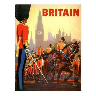Carte Postale PC vintage de la Grande-Bretagne Royaume-Uni de