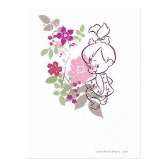 Carte Postale PEBBLES™ un Cutie en fleurs