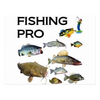 Carte Postale Pêche pro