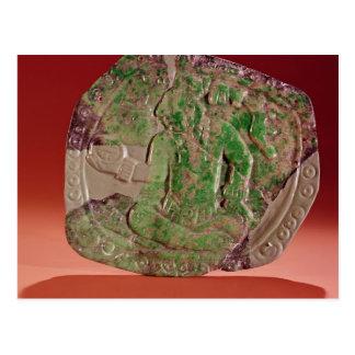 Carte Postale Pectoral d'un roi de site de Tikal, Guatemala