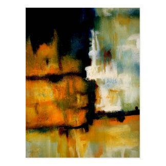 Carte Postale Peinture abstraite d'original