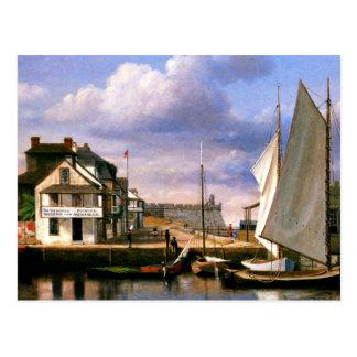 Carte Postale Peinture de bord de mer de St Augustine