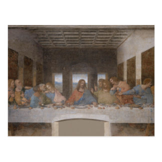 Carte Postale Peinture de Leonardo da Vinci de dernier dîner
