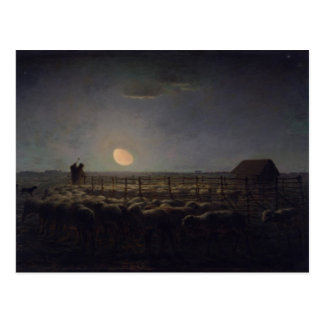 Carte Postale Peinture de millet de Jean