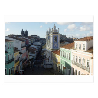 Carte Postale Pelourinho, Salvador, Bahia, Brésil