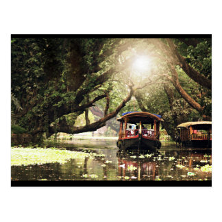 Carte Postale Péniche du Kerala