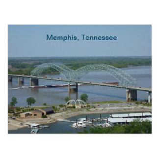 Carte Postale Péniche sur le fleuve Mississippi