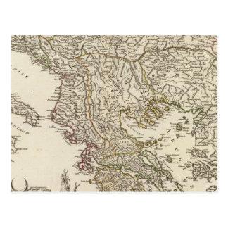 Carte Postale Péninsule balkanique