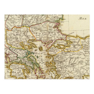 Carte Postale Péninsule balkanique 2