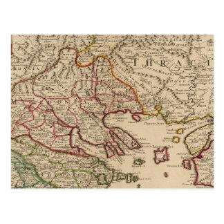Carte Postale Péninsule balkanique, Grèce, Macédoine 3