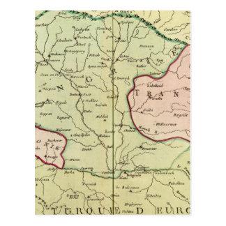 Carte Postale Péninsule balkanique, Hongrie, Roumanie 2