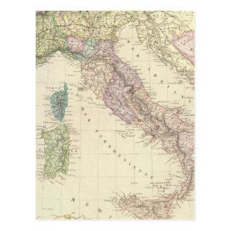 Carte Postale Péninsule balkanique, Italie, Slovénie 2