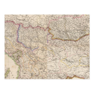 Carte Postale Péninsule balkanique, Turquie