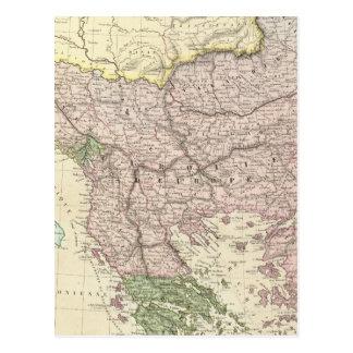 Carte Postale Péninsule balkanique, Turquie, Grèce 2
