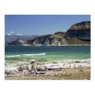 Carte Postale Péninsule de Kaikoura, Nouvelle Zélande
