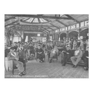 Carte Postale Pension de YMCA, Piccadilly, Manchester, c.1910