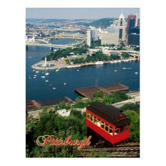 Carte Postale Pente de Duquesne, Pittsburgh, Pennsylvanie