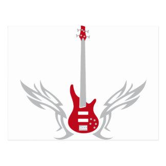 Carte Postale perche guitar