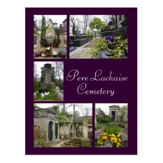 Carte Postale Pere Lachaise