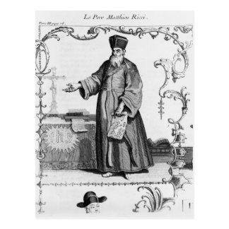 Carte Postale Père Matteo Ricci