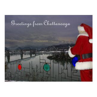 Carte Postale Père Noël à Chattanooga