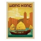 Carte Postale Perle de Hong Kong   de l'Orient