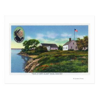 Carte Postale Perle de l'île d'Orr