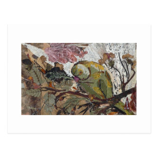 Carte Postale perroquet