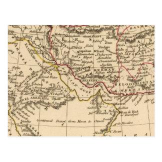 Carte Postale Perse, Arabie