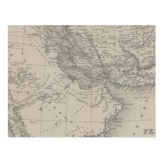 Carte Postale Perse et l'Arabie