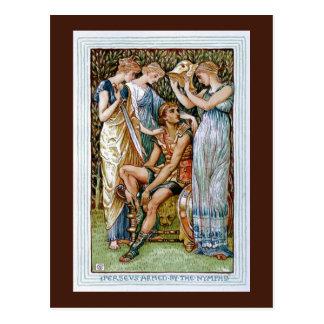 Carte Postale Perseus a armé par les nymphes