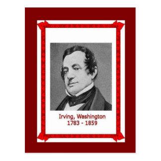 Carte Postale Personnes célèbres, Washington Irving 1783-1859