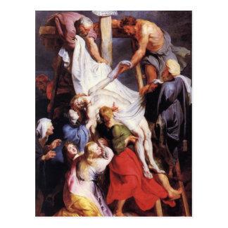 Carte Postale Peter Paul Rubens - de la croix