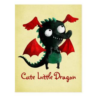 Carte Postale Petit dragon mignon