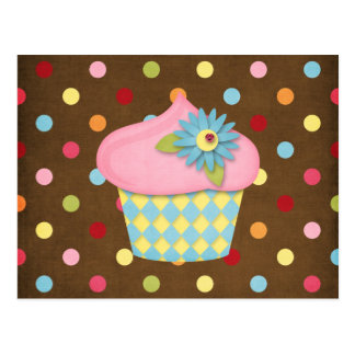 Carte Postale petit gâteau délicieux