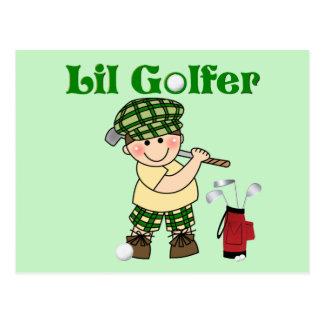 Carte Postale Petit golfeur