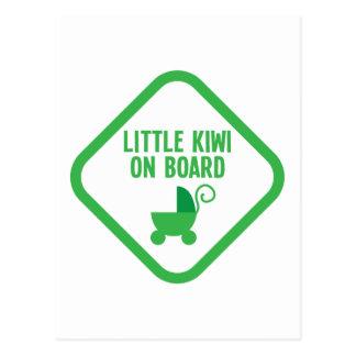 Carte Postale Petit KIWI à bord de la Nouvelle Zélande