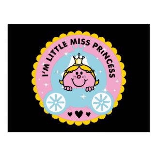 Carte Postale Petite Mlle le princesse   je suis une princesse