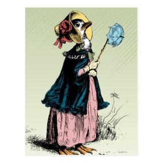Carte Postale Petite Mme Duck