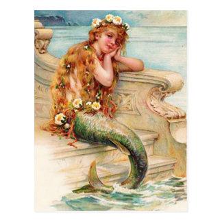 Carte Postale Petite sirène