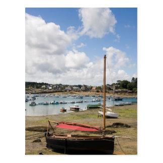 Carte Postale Petits bateaux | Ploumanac'H, France