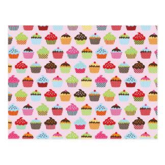 Carte Postale Petits gâteaux mignons