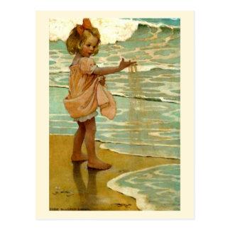 Carte Postale Petits grains de sable