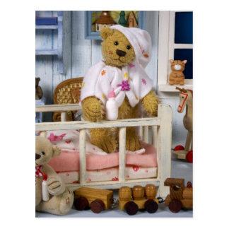 Carte Postale Petits ours : Bonne nuit