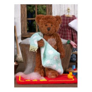 Carte Postale Petits ours : Jour de Bath