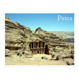 Carte Postale PETRA antique de monastère