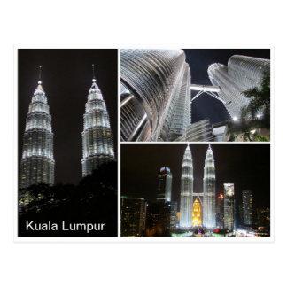 Carte Postale Petronas domine triple