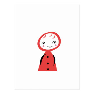 Carte Postale Peu de capuchon rouge